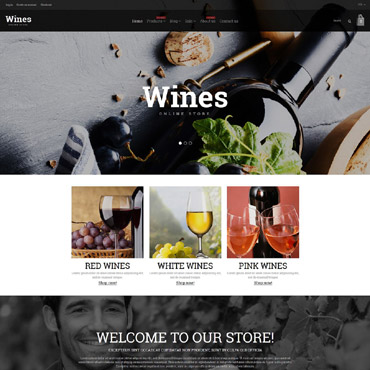 Купить  пофессиональные Shopify шаблоны. Купить шаблон #54786 и создать сайт.