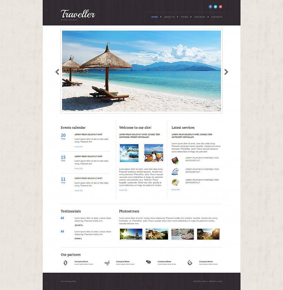 Сайт-визитка для туристического агентства - image