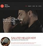 54918 Music Moto CMS HTML Templates