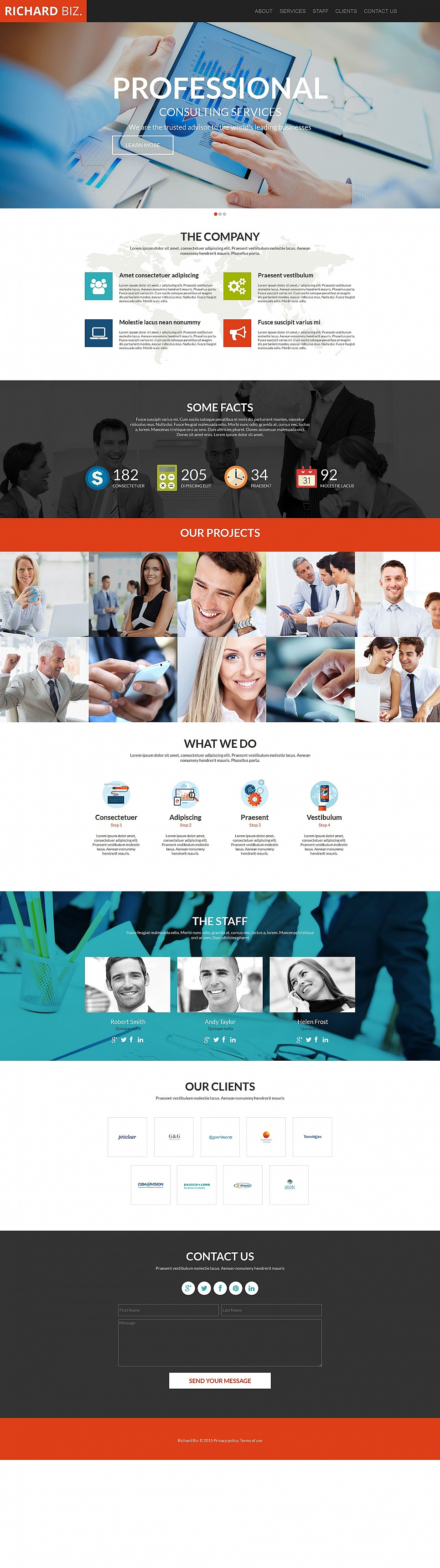 Business MotoCMS HTML Template #54919 - image