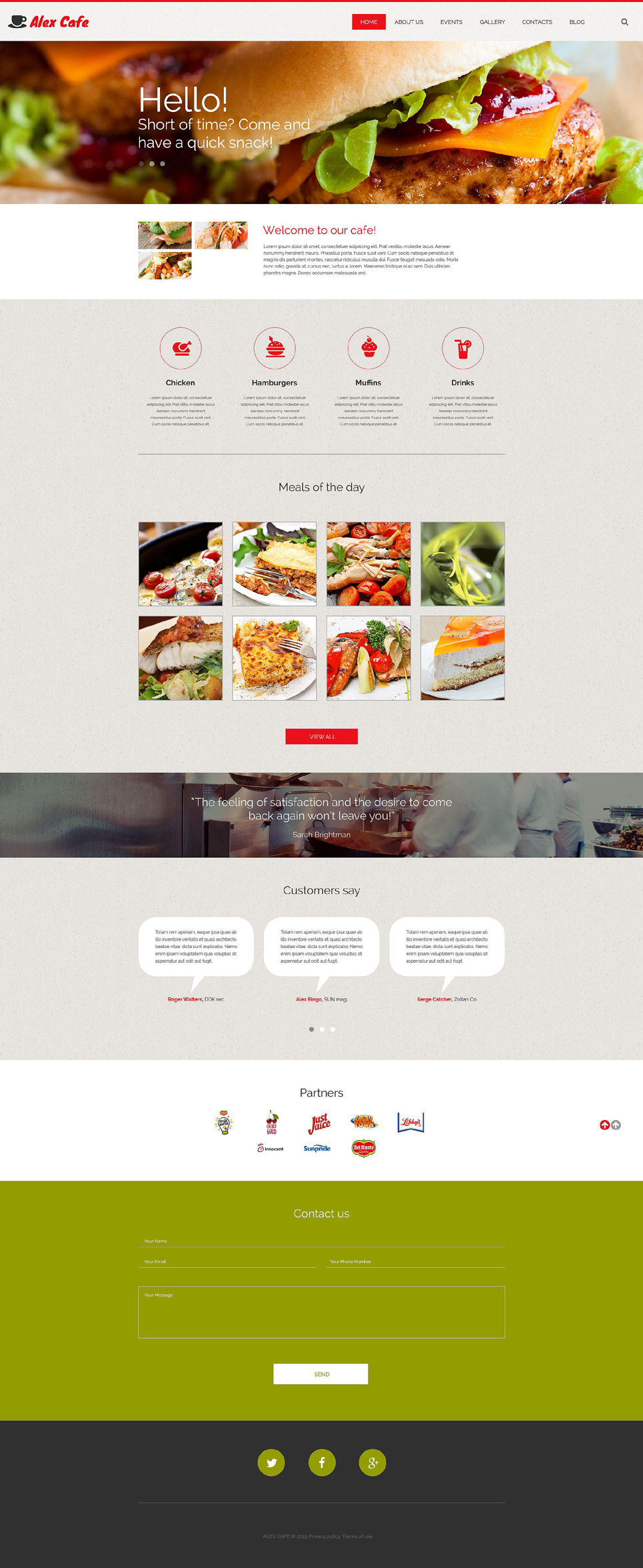 Collection Of Best Responsive Restaurant Wordpress Theme For Cafes