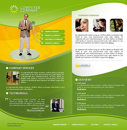 Website Template #5512