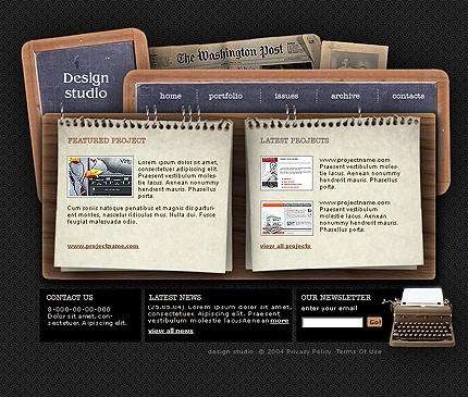 Website Template #5545