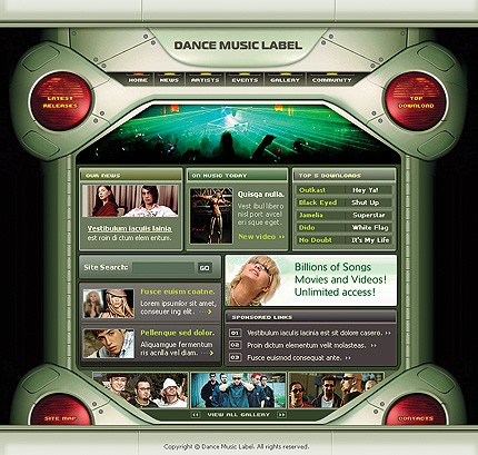 Website Template #5553