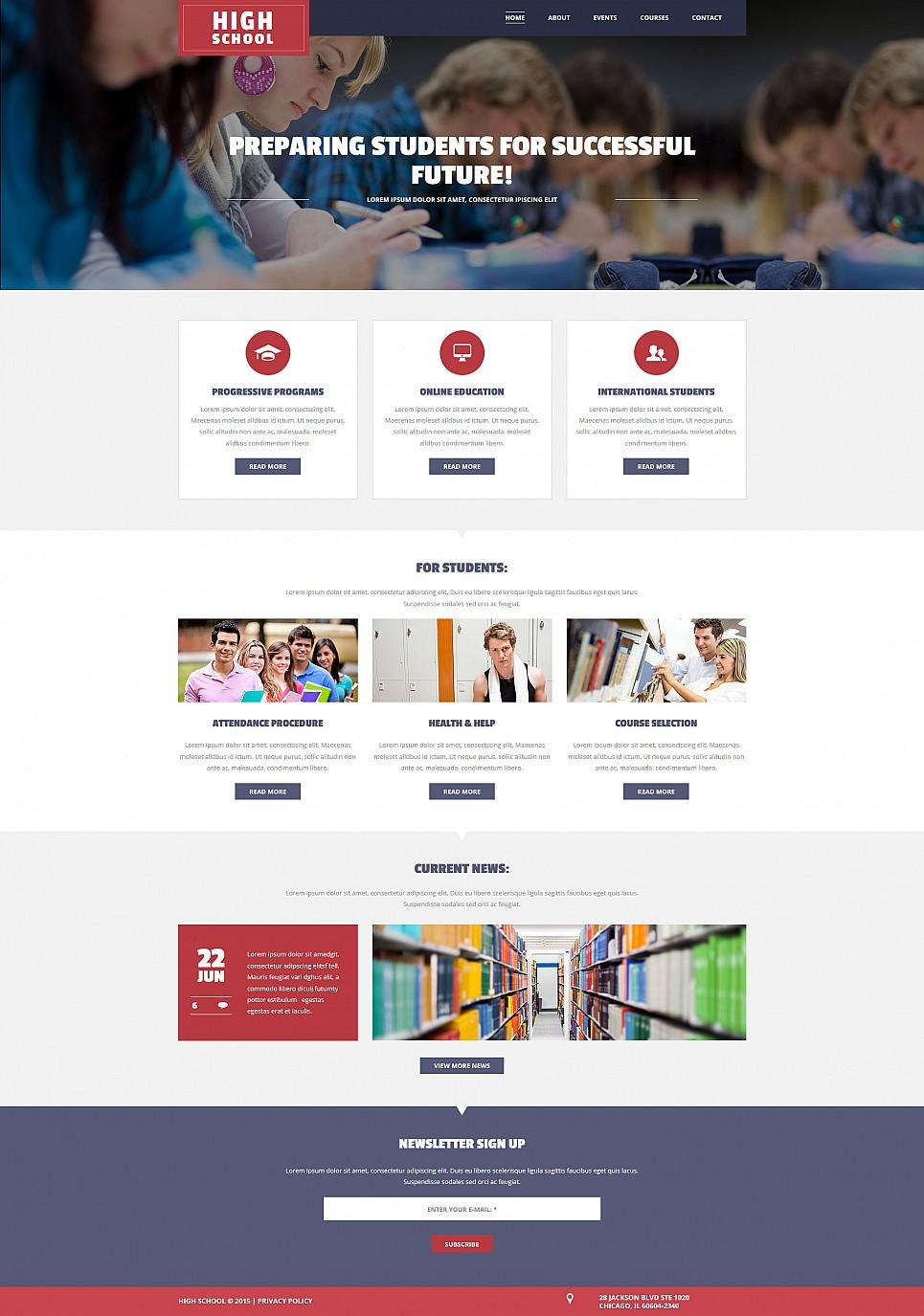 Temat www dla strony szkoły