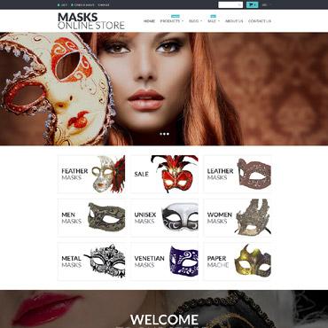 Купить  пофессиональные Shopify шаблоны. Купить шаблон #55214 и создать сайт.