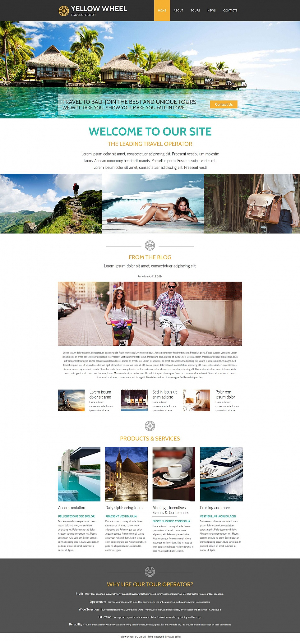 MotoCMS HTML Шаблон #55312 из категории Путешествия - image