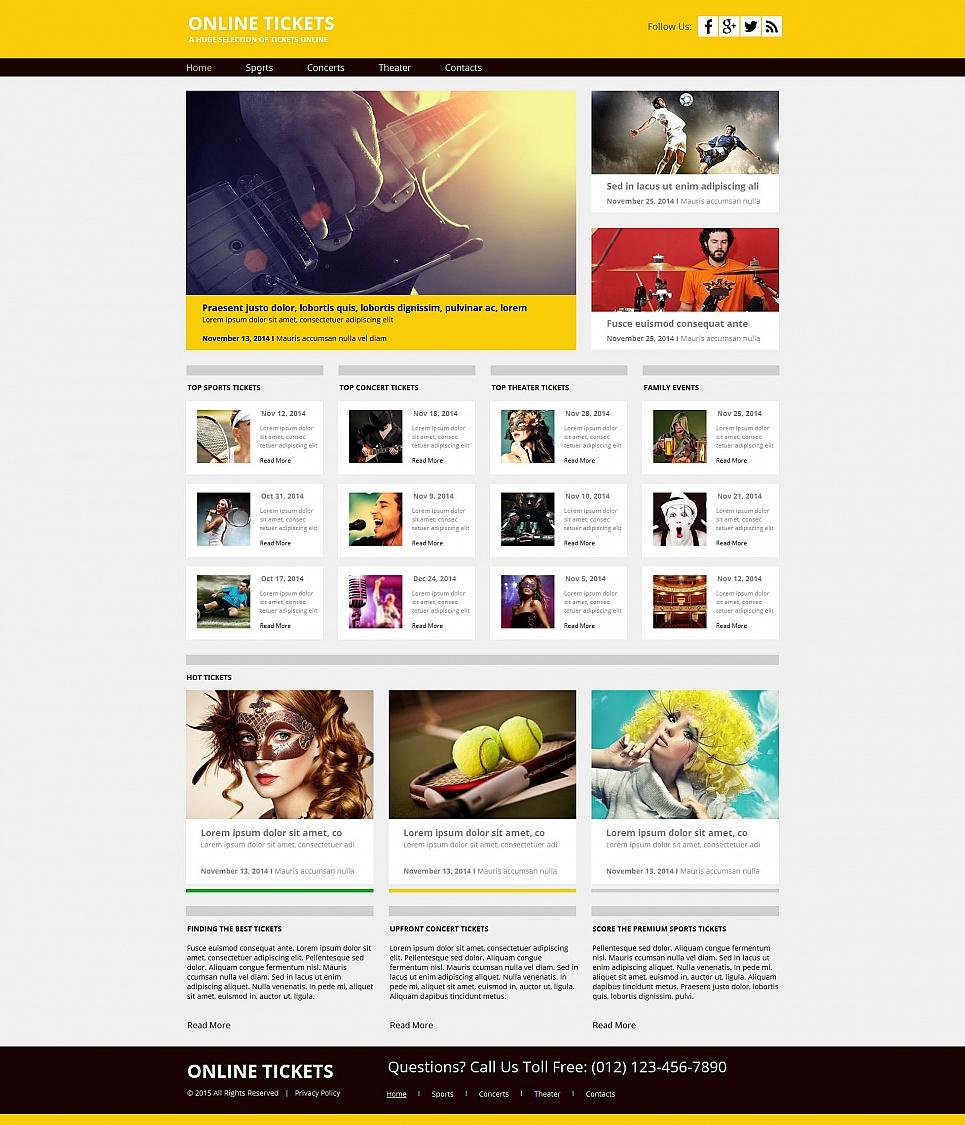 MotoCMS HTML Szablon #55313 z kategorii Wydarzenia - image