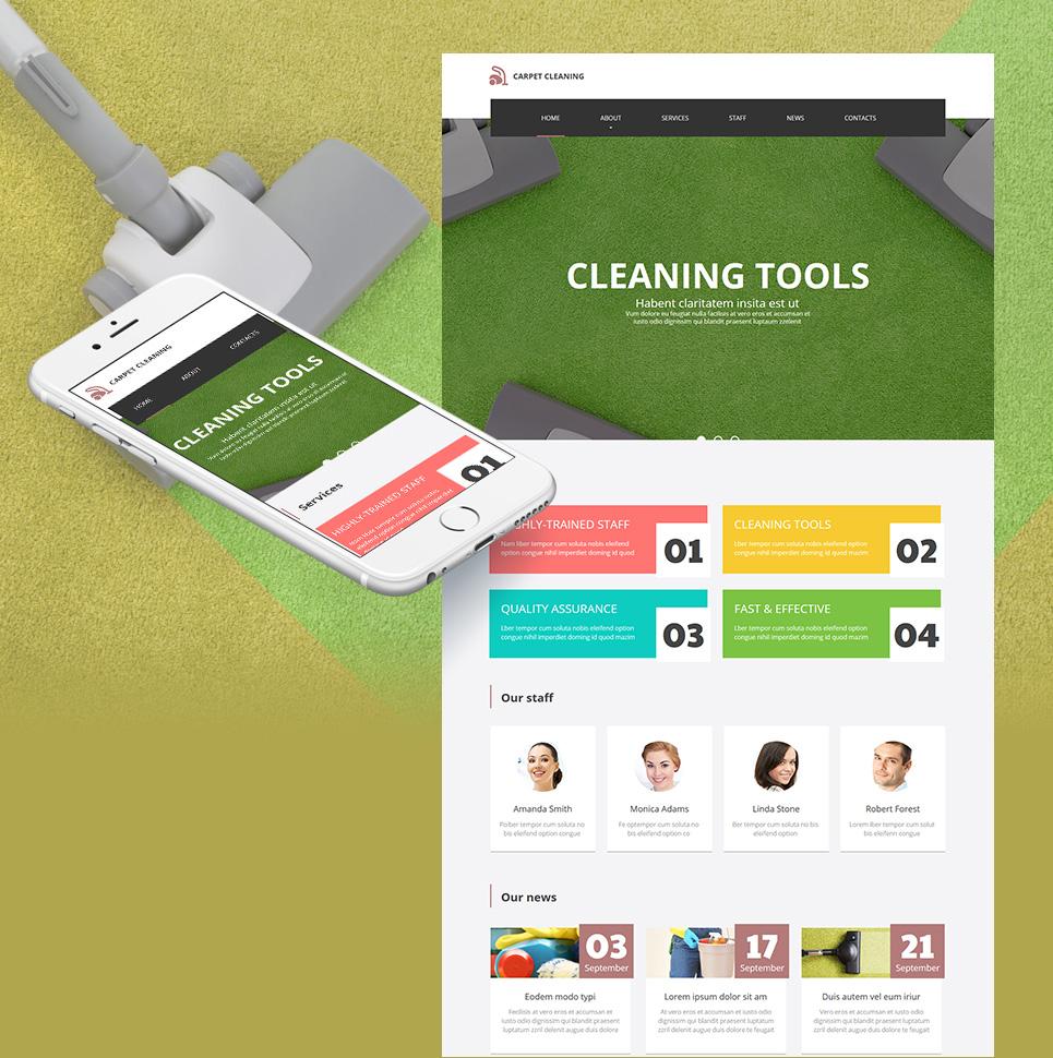 MotoCMS HTML Szablon #55318 z kategorii Usługi Serwisowe - image