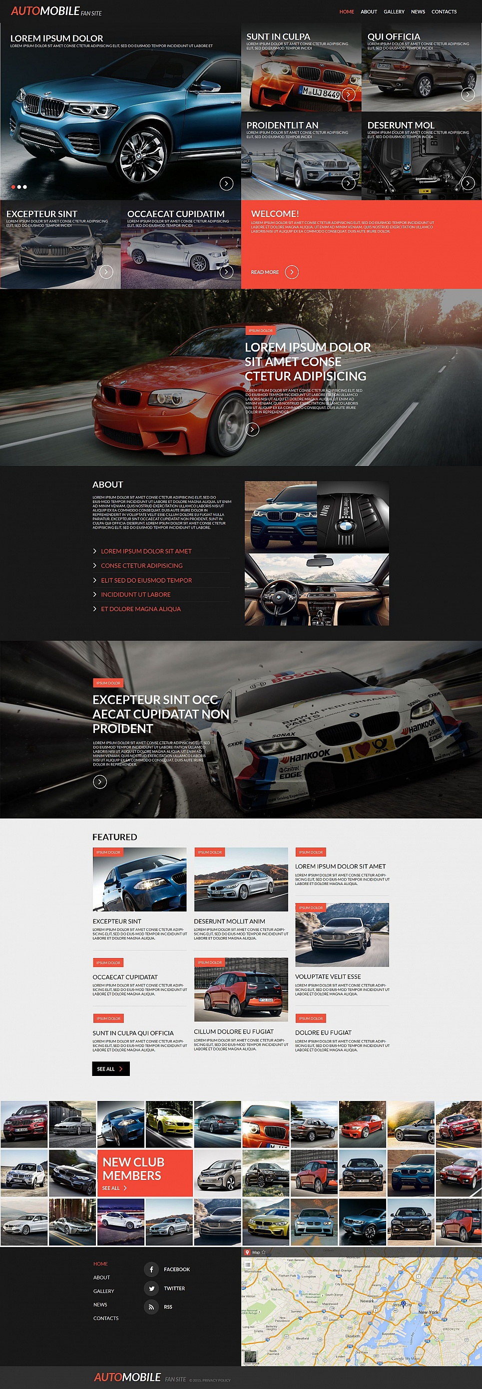 Cars MotoCMS HTML Template #55324 - image