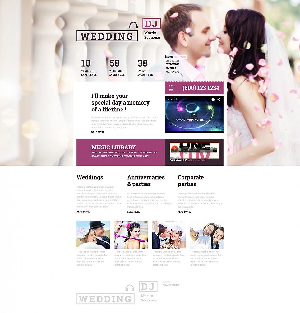Сайт-визитка для свадебного агентства - image