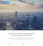 Landing Page Template #55464