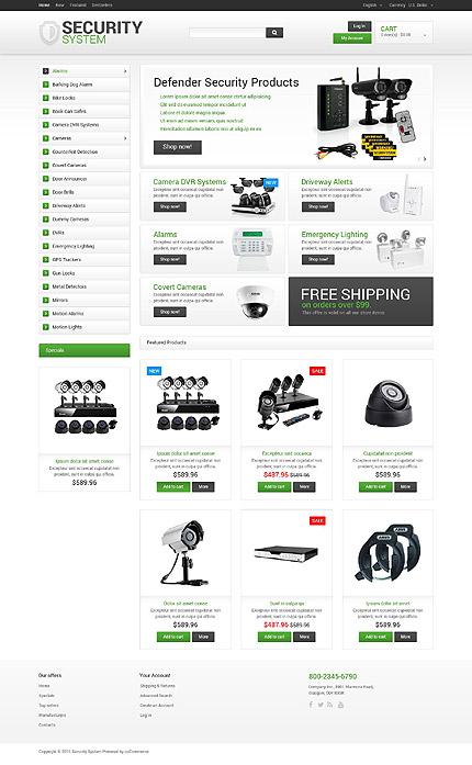 TM 55554: Просмотр главной страницы OSCommerce