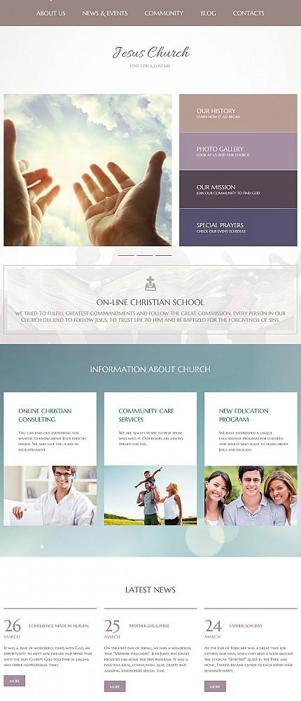 Website template 55635
