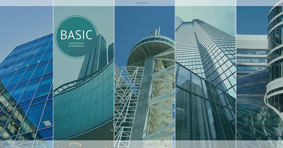 MotoCMS HTML Vorlage #55661 aus der Kategorie Architektur - image