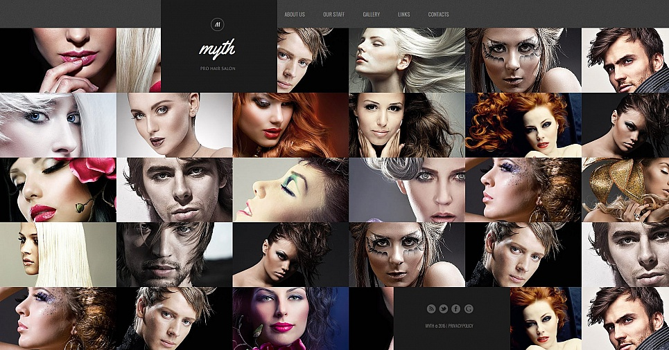 MotoCMS HTML Шаблон #55664 из категории Красота - image