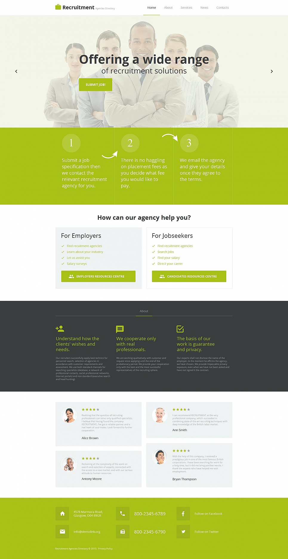 Green web design for business