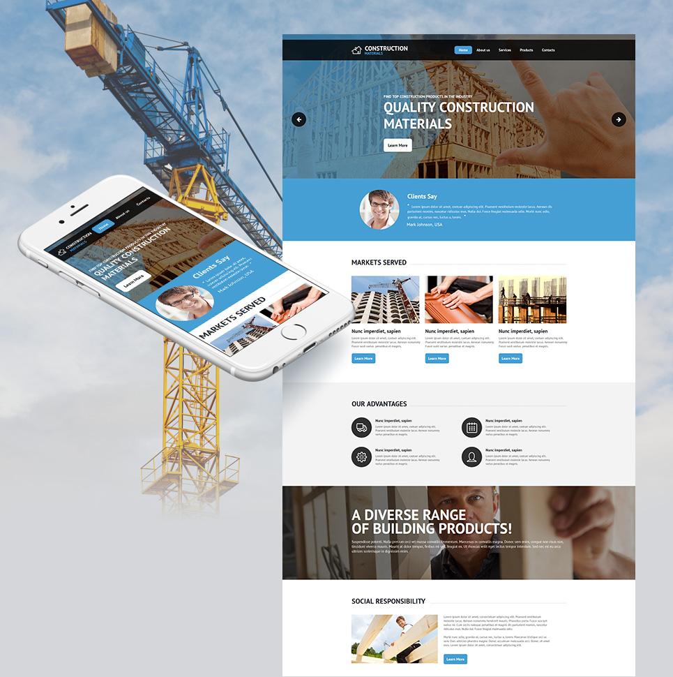 Architectural firm site design