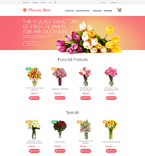 55697 Flowers, Last Added OpenCart Templates