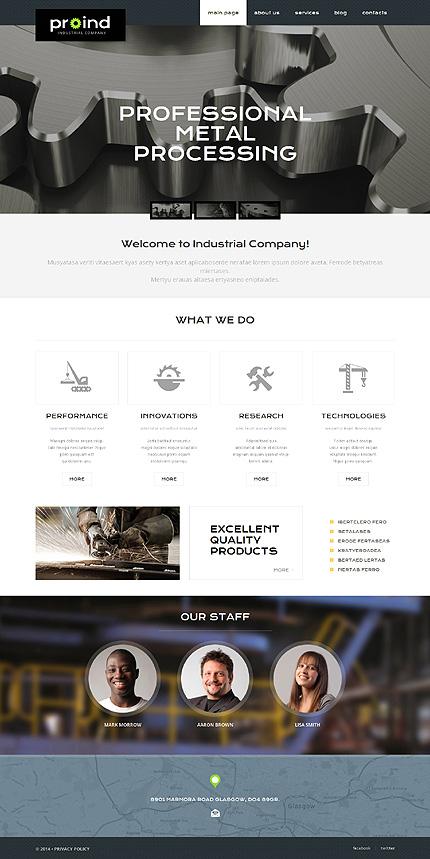 PSD макет сайта №55828