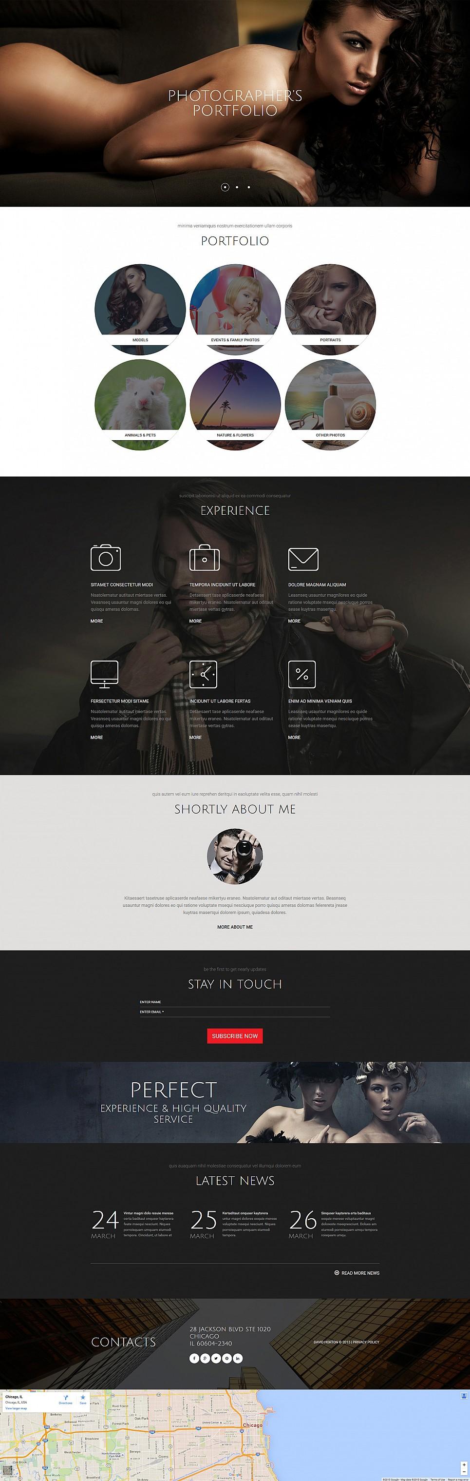 Online-Portfolio für Fotografen