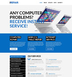 55863 Computers PSD Templates