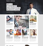 55915 Personal Pages PSD Templates
