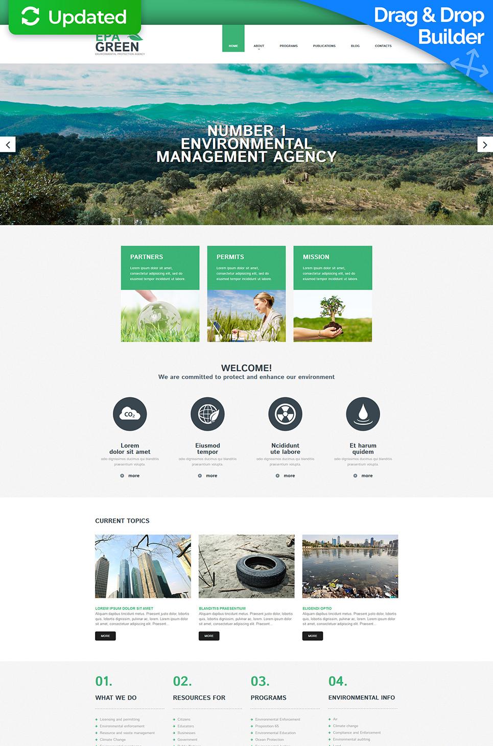 Website für Naturschutzbehörde