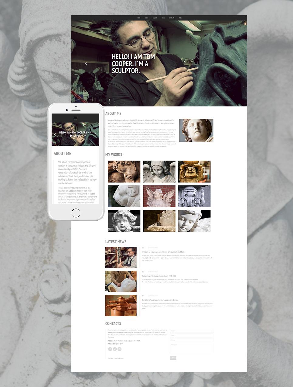 Sitio web adaptable para los arquitectos - image