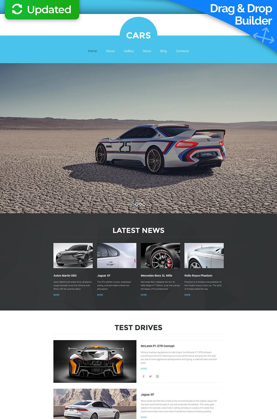 El diseño de las páginas Web para los concesionarios de automóviles - image