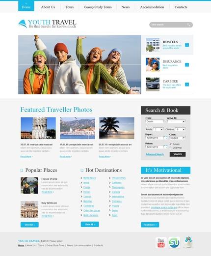 PSD макет сайта №56113