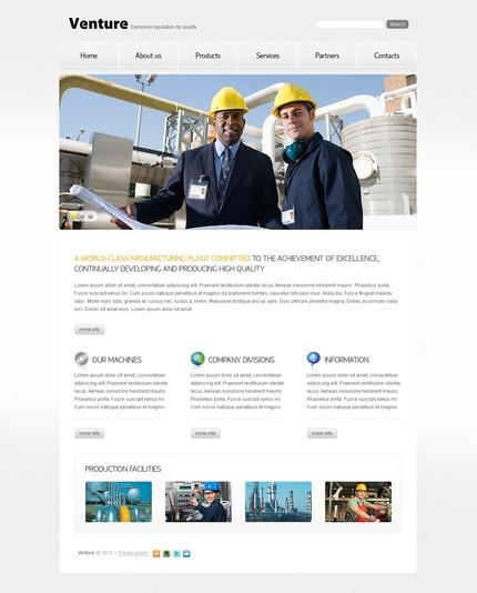 PSD макет сайта №56131