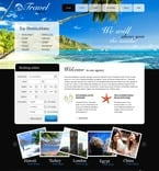 56164 Travel, Full Site, CSS, Flash 8, Wide Templates, HTML 5 PSD Templates
