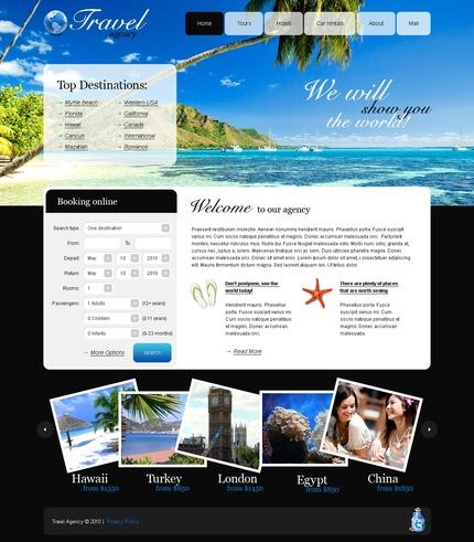 PSD макет сайта №56164
