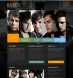 56166 Beauty, Full Site, CSS, Flash 8, Wide Templates PSD Templates