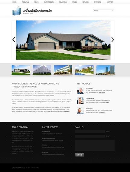PSD макет сайта №56199