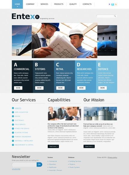 PSD макет сайта №56226