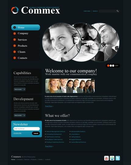 PSD макет сайта №56236