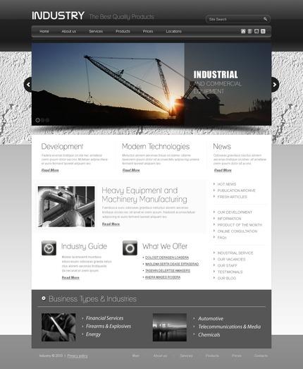 PSD макет сайта №56266