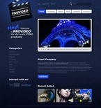56281 Media, Full Site, CSS, Wide Templates, jQuery Templates, HTML 5 PSD Templates