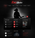 56295 Music, Full Site, CSS, Flash 8, Wide Templates, jQuery Templates, HTML 5 PSD Templates