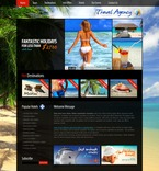 56302 Travel, Full Site, CSS, Flash 8, Wide Templates, jQuery Templates, HTML 5, Extended Package Templates PSD Templates