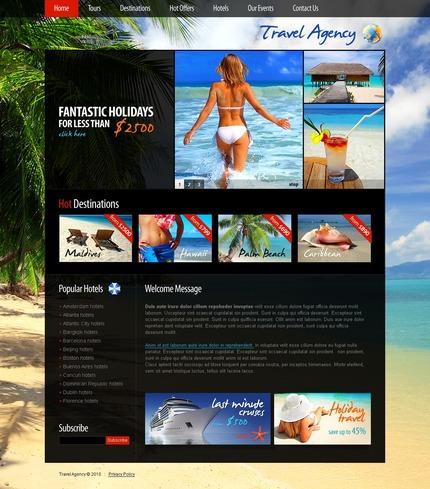 PSD макет сайта №56302