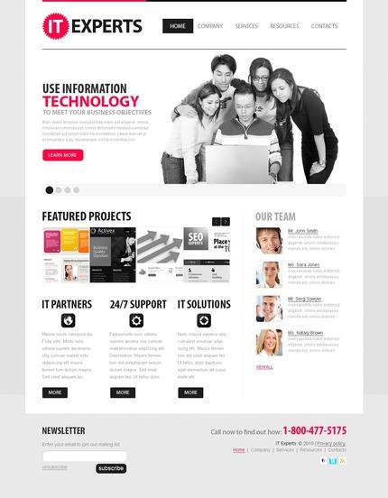 PSD макет сайта №56325