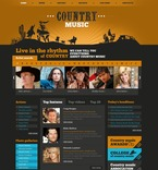 56344 Music, Full Site, CSS, Flash 8, Wide Templates, HTML 5 PSD Templates