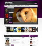 56363 Portal, Entertainment, Media, CSS, Wide Templates, jQuery Templates, HTML 5 PSD Templates