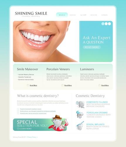 PSD макет сайта №56381