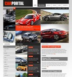 56396 Portal, Cars, CSS, Wide Templates, jQuery Templates, HTML 5 PSD Templates