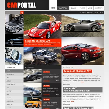 Buy Premium Responsive PSD Templates. Template #56396. ArtelWEB Template Store Online.