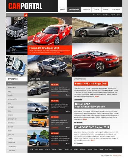 PSD макет сайта №56396